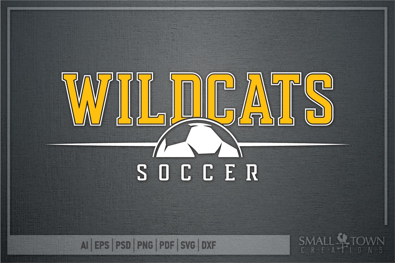 Wildcat, Soccer, Sports, Team, logo, PRINT, CUT & DESIGN example image 5