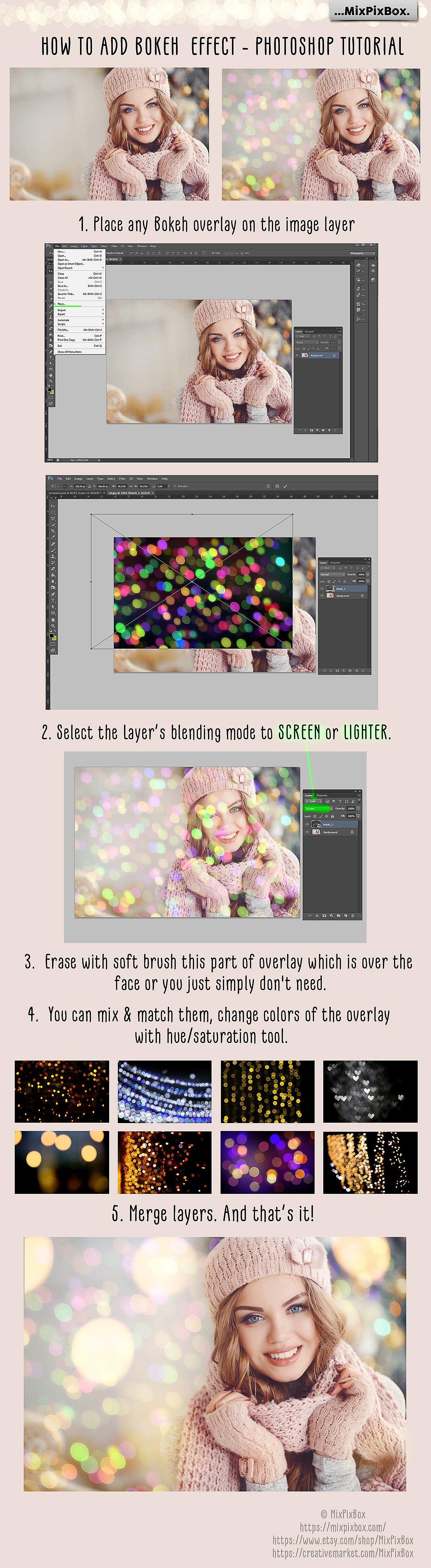 100 Bokeh Photo Overlays example image 9