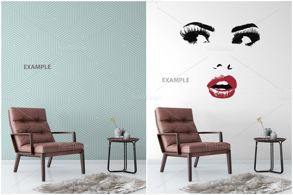 Wall Mockup - Bundle Vol. 1 example image 8
