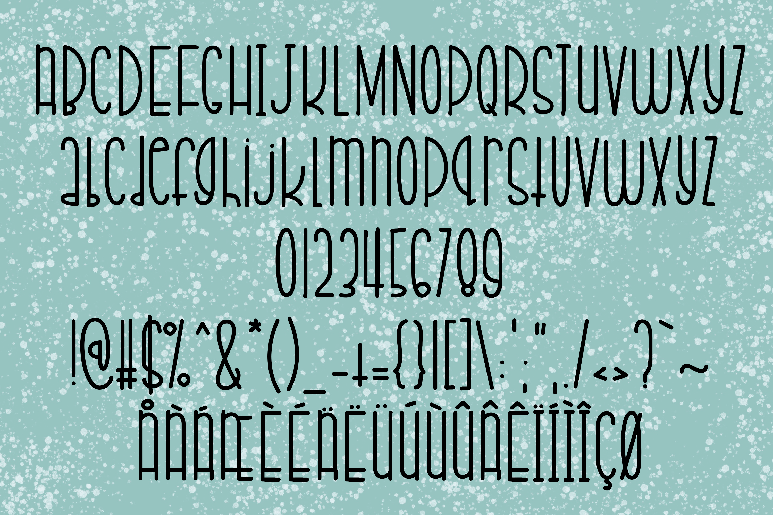 Chilly Eggnog a Joyful Font example image 2