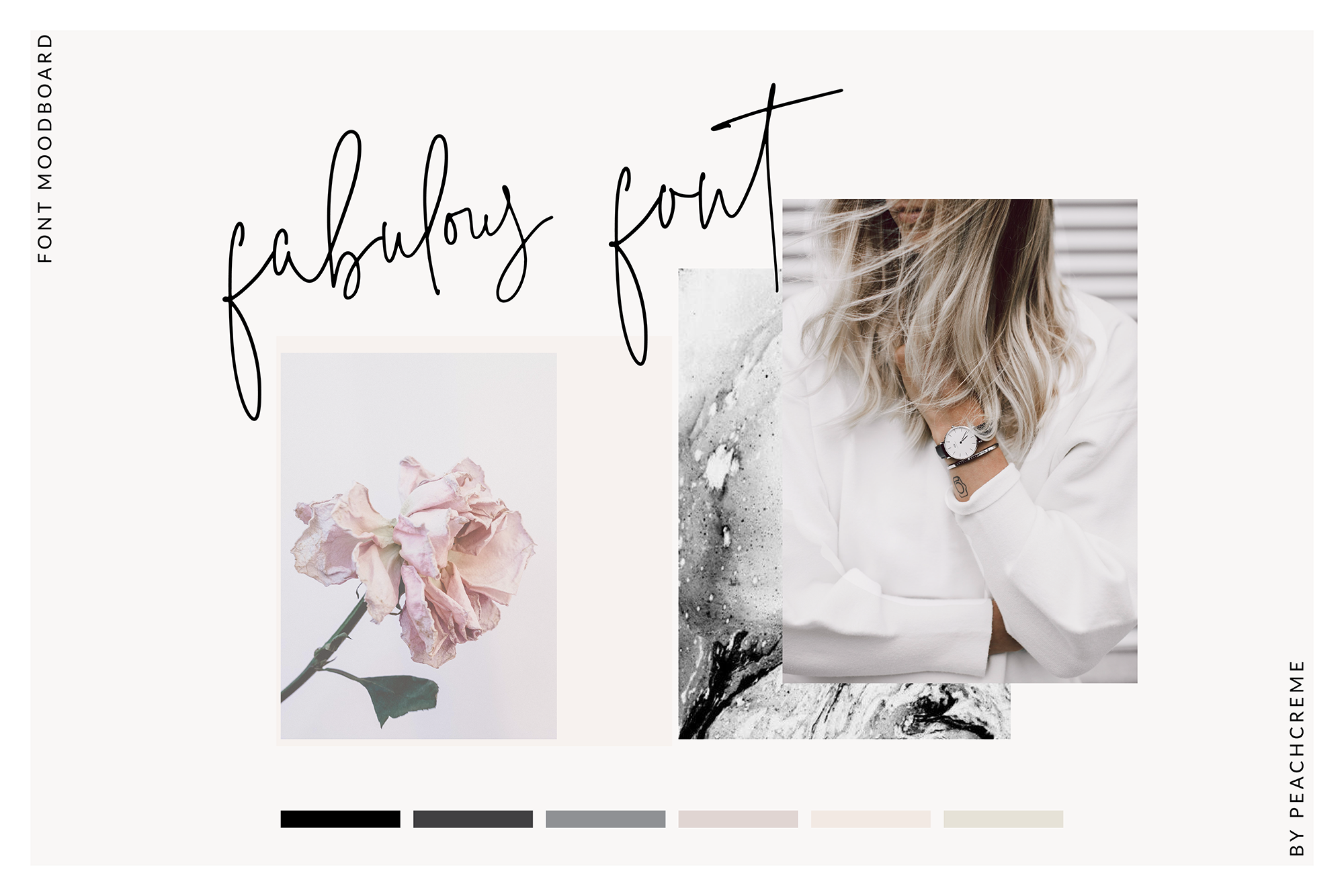 The Styled Edit- Chic Ligature Font example image 2
