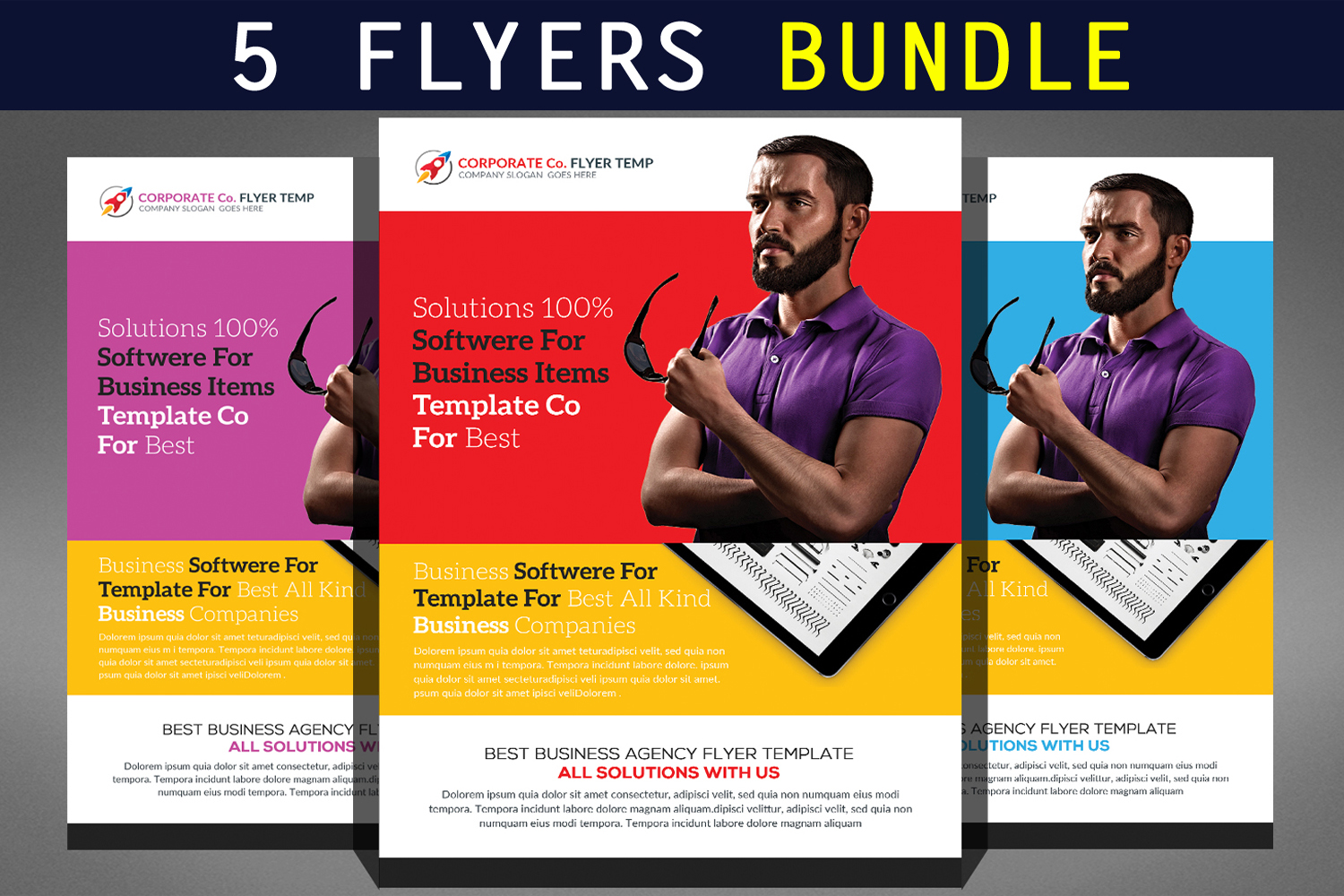 Best Business Flyers Bundle example image 1