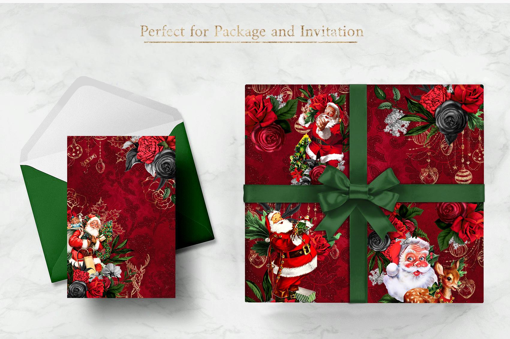 Santa Claus | 54 Clipart Elements example image 2