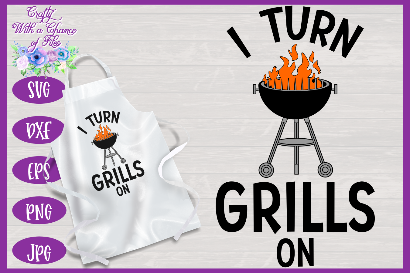 BBQ Grill Apron Bundle | Funny SVG Bundle example image 9