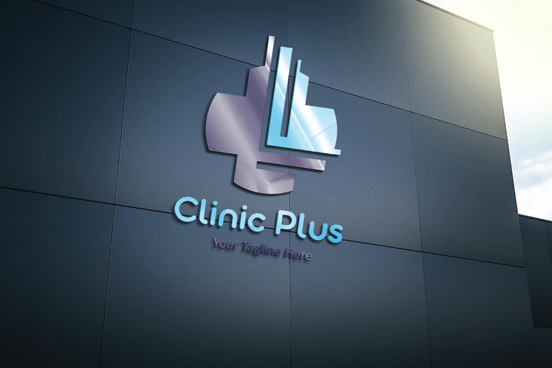 L letter Plus medical logo example image 3