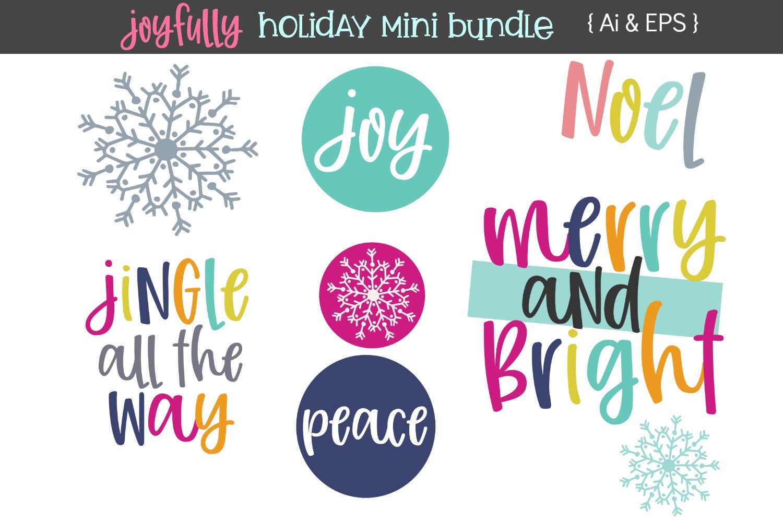 Joyfully Font & Graphics example image 2