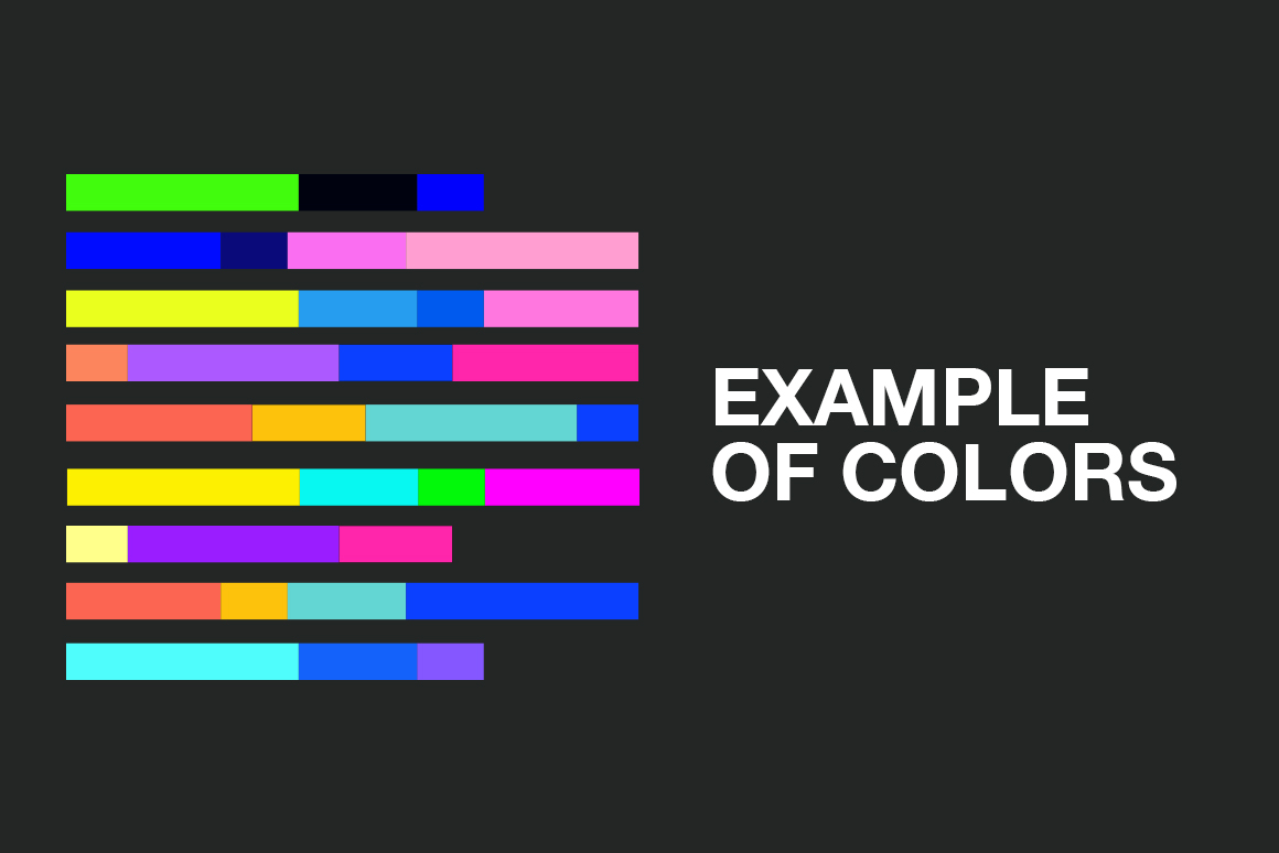 2019 Trends - 20 Modern Color Swatches example image 3