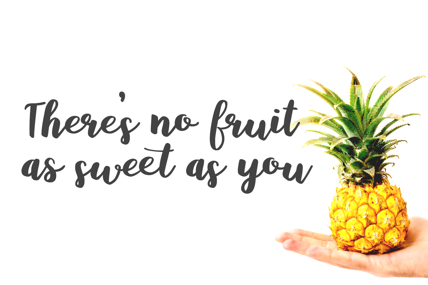 Baby Pineapples - A Sweet and Sassy Script font example image 9