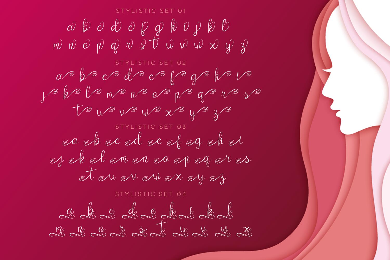 Catrina Script example image 8