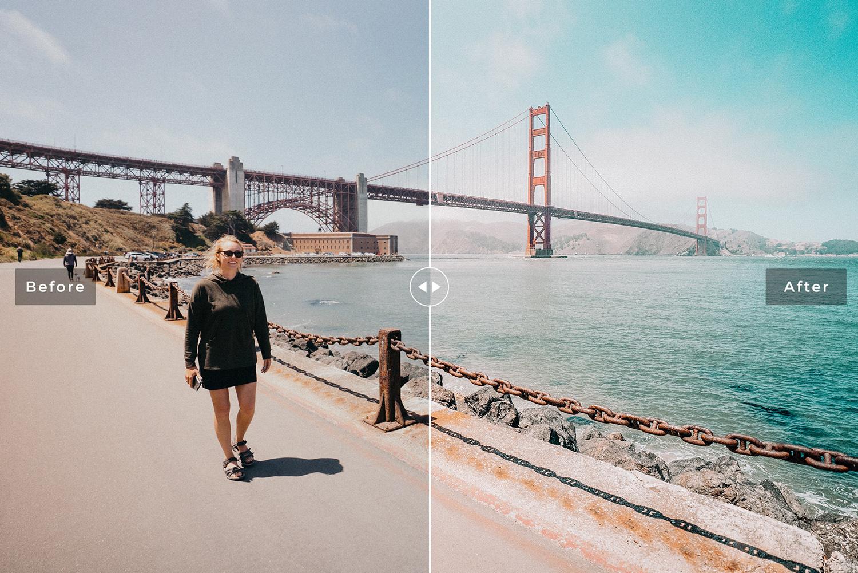 San Francisco Mobile & Desktop Lightroom Presets example image 2