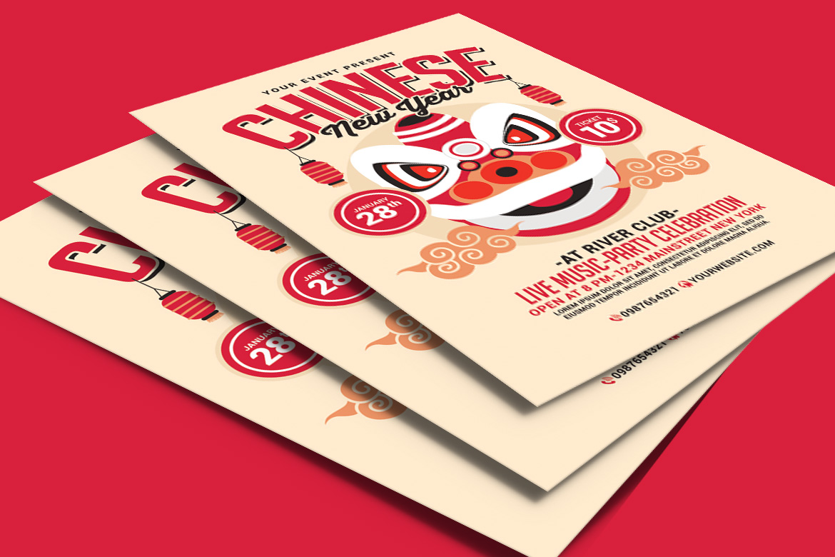 Chinese New Year Flyer example image 2