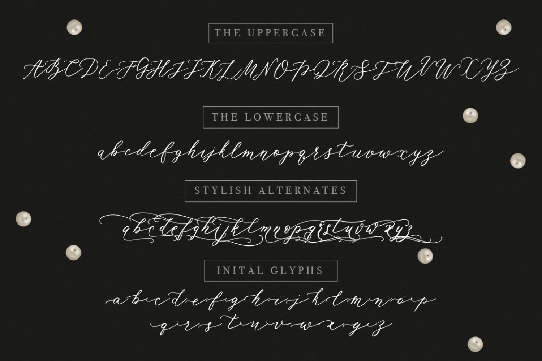 Rhapsody Font example image 6
