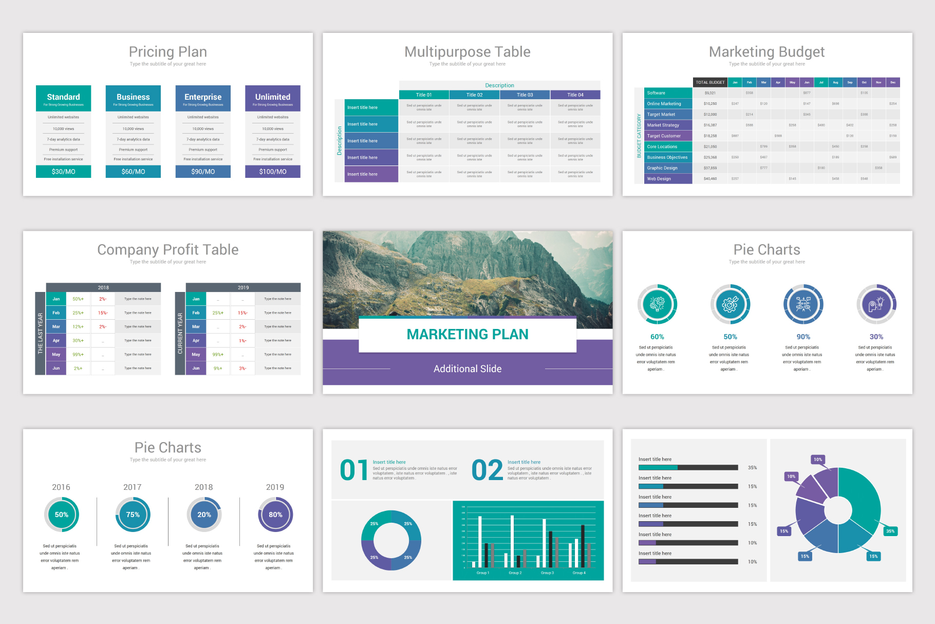Business Plan Keynote Template example image 14