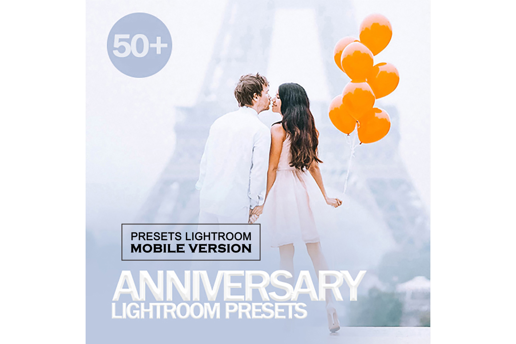 Anniversary Lightroom Mobile Presets example image 1
