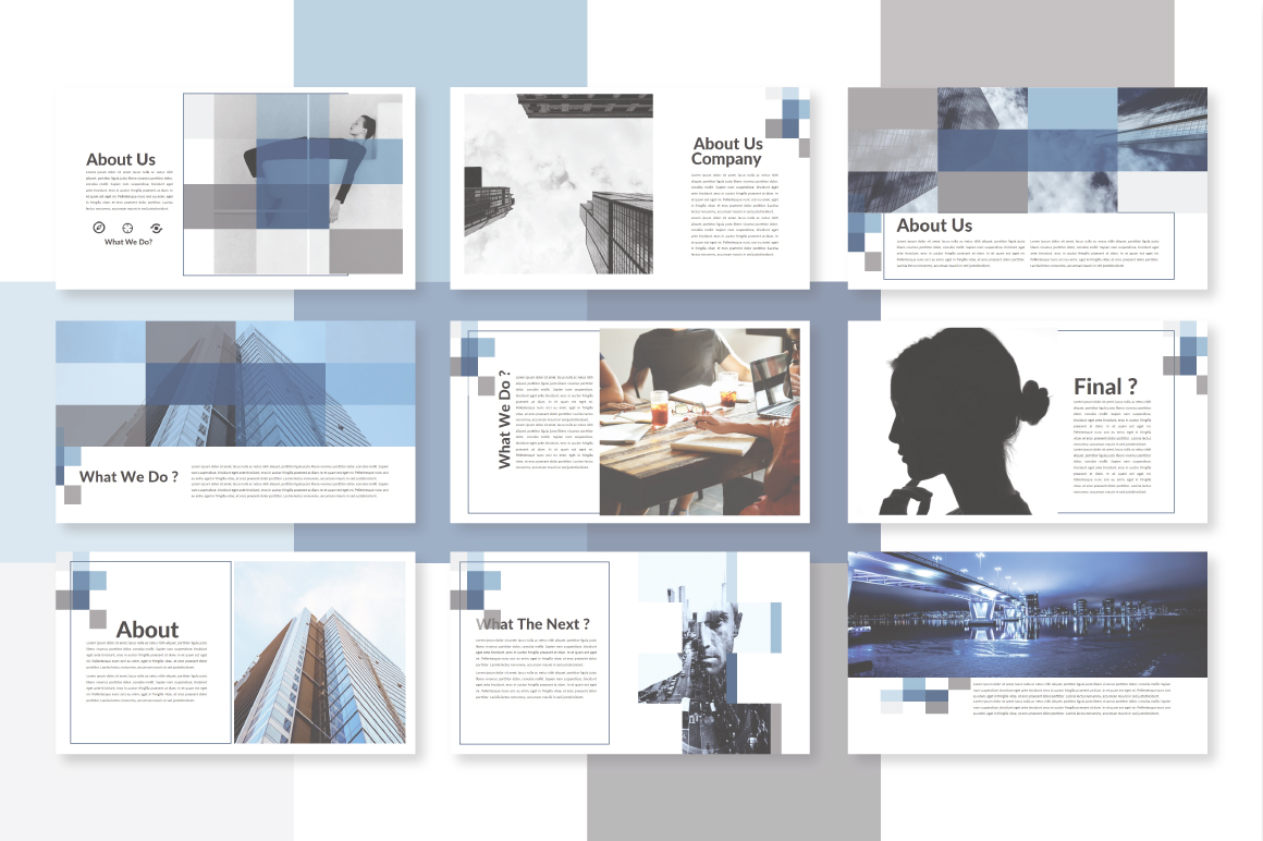 Half Powerpoint Template example image 2