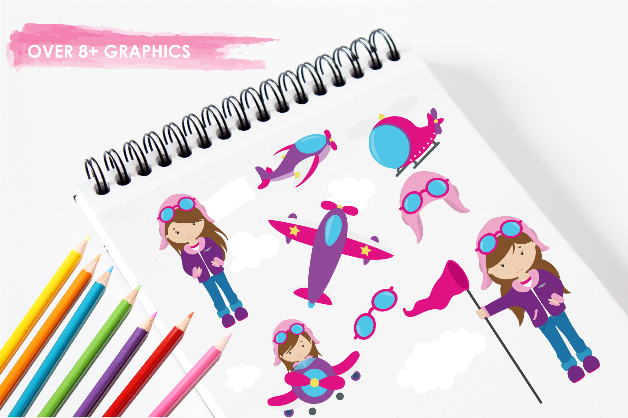 Flygirls graphics and illustrations example image 3