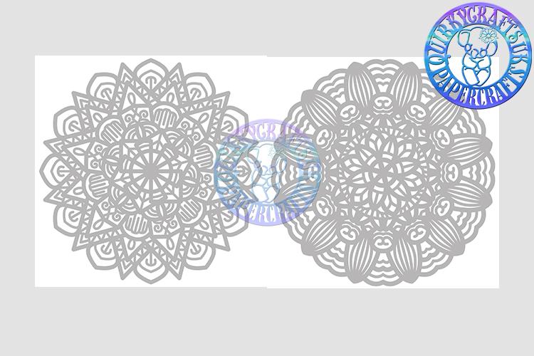Big Bundle JULY 2018 - 31 Papercutting Templates example image 20
