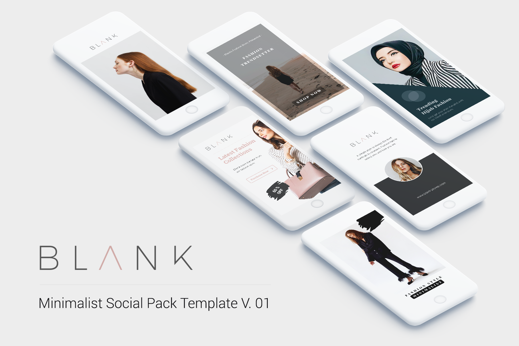 Minimal Social Packs v. 01 example image 2