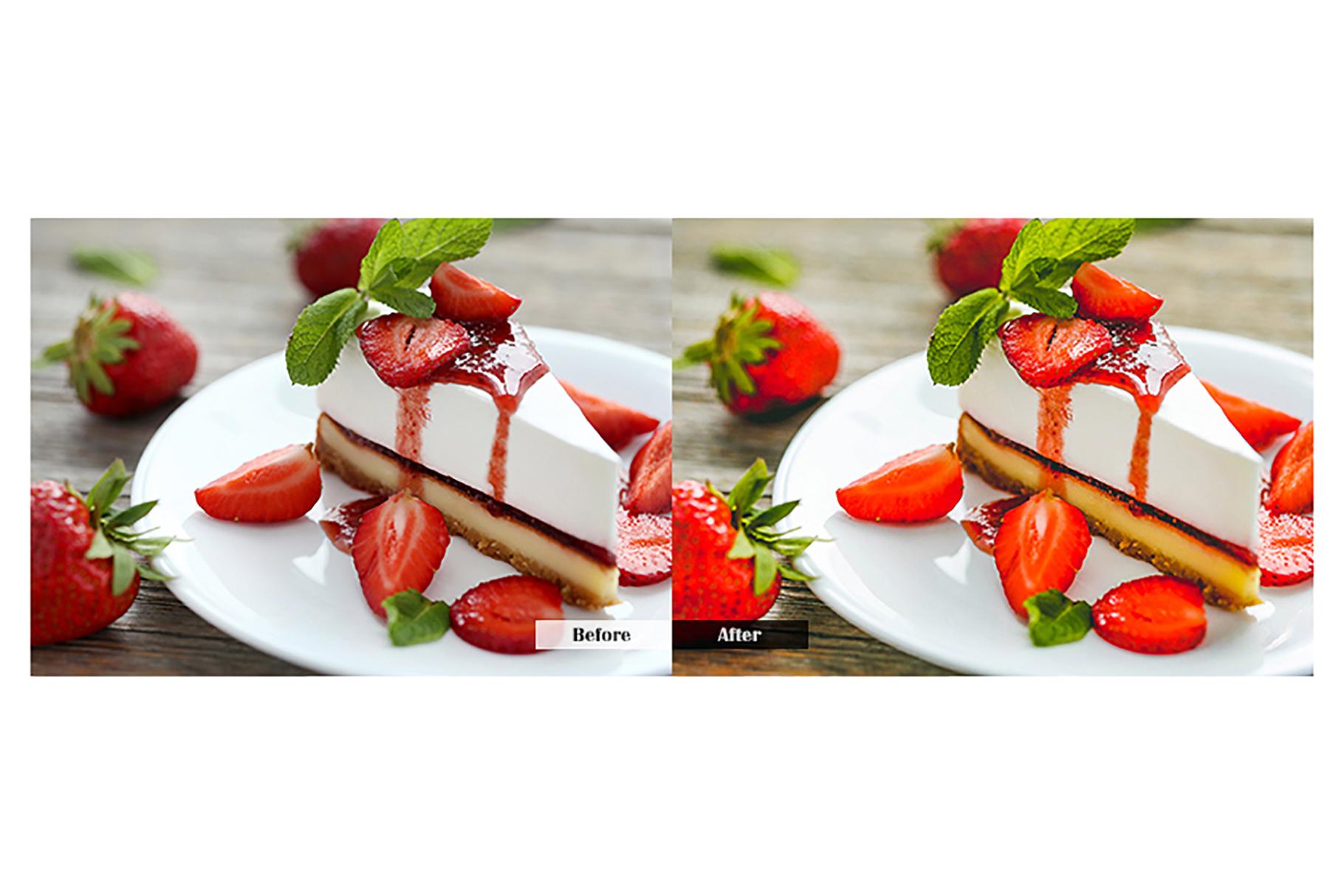 Food Lightroom Mobile Presets example image 5