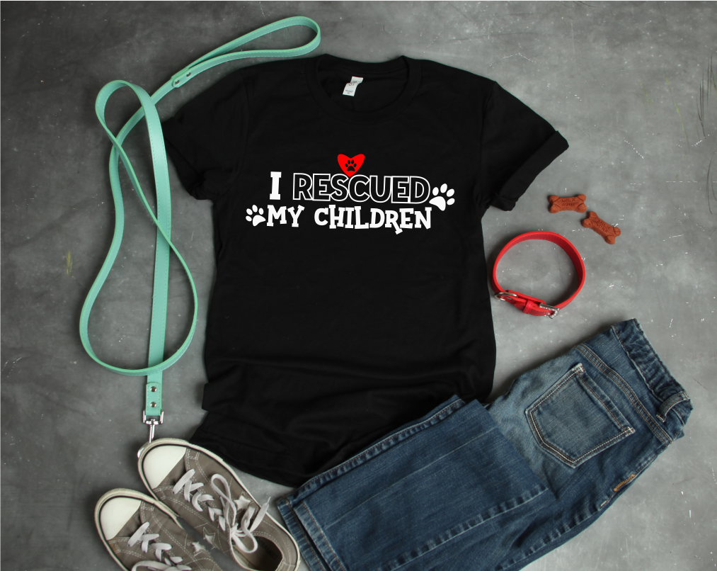 I Rescued My Children - A Dog Lover's SVG example image 2