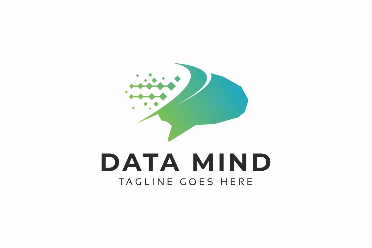 Data Mind Logo example image 1
