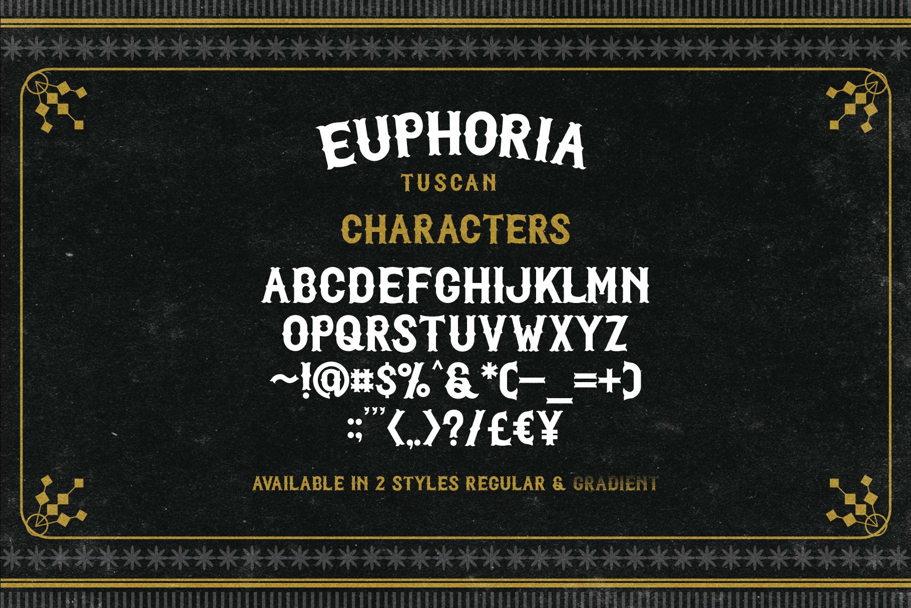 Euphoria Font Family example image 7