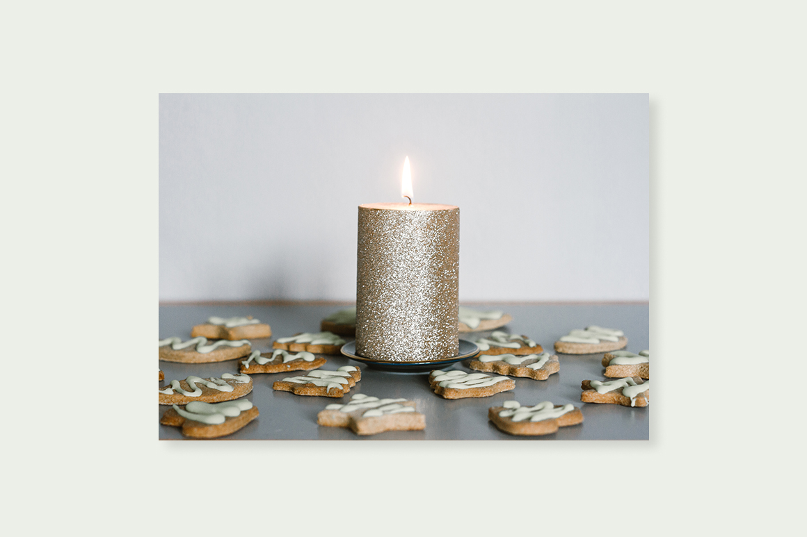 Christmas decorations bundle. Holiday cookies example image 3