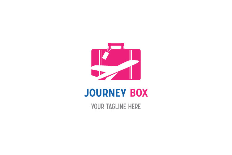 Aeroplane Logo, Box Shape example image 1