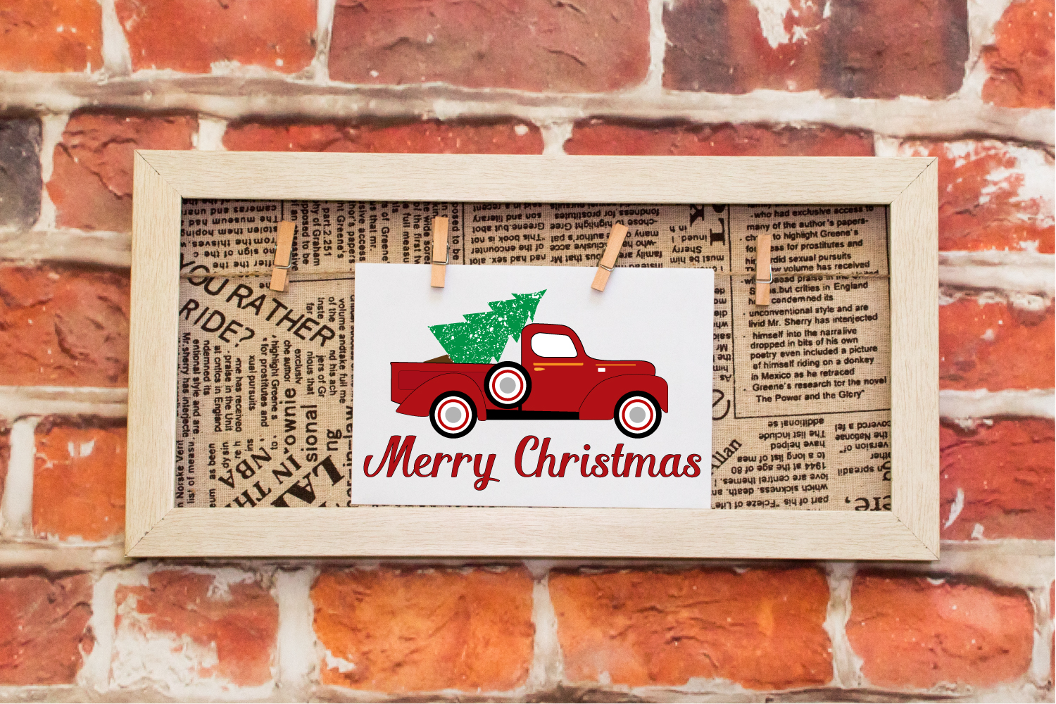 Merry Christmas Instant Download Believe Christmas S example image 2
