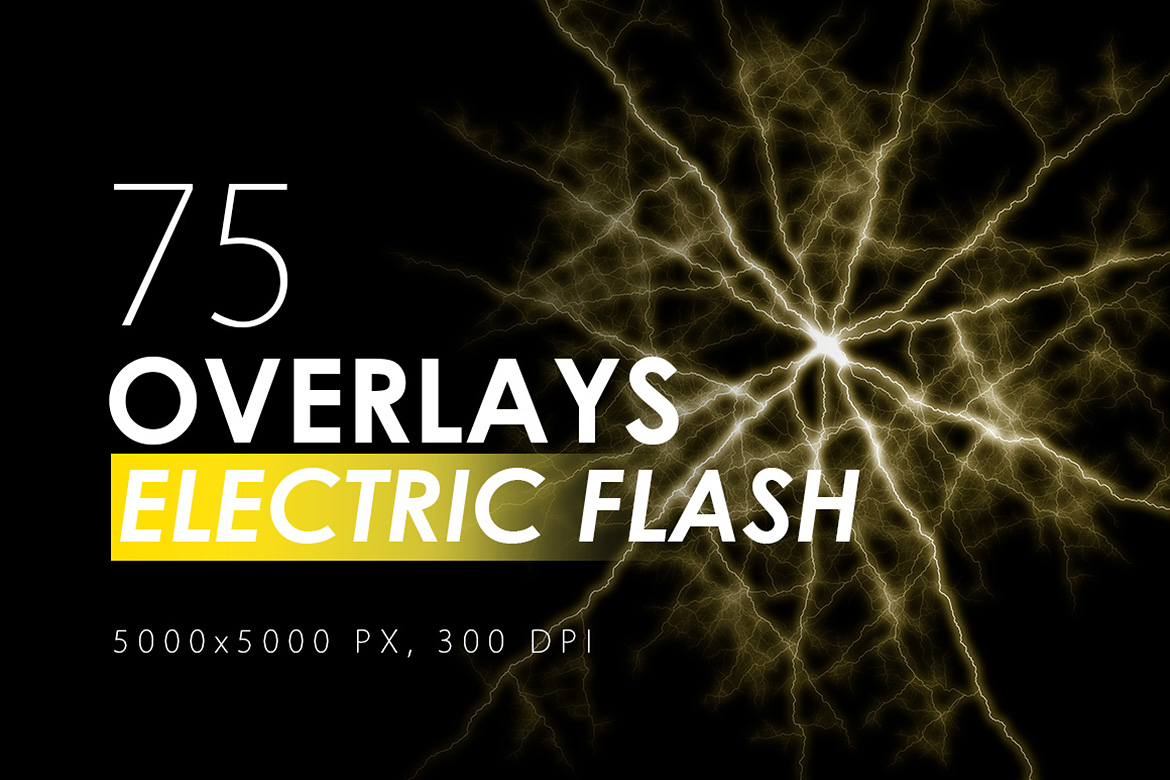 75 Electric Flash Overlays example image 1