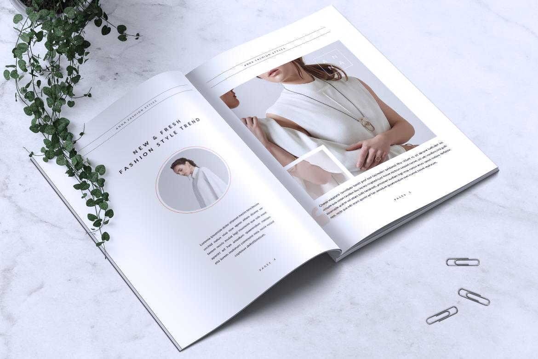 Anna Lookbook/Magazine Fashion example image 2