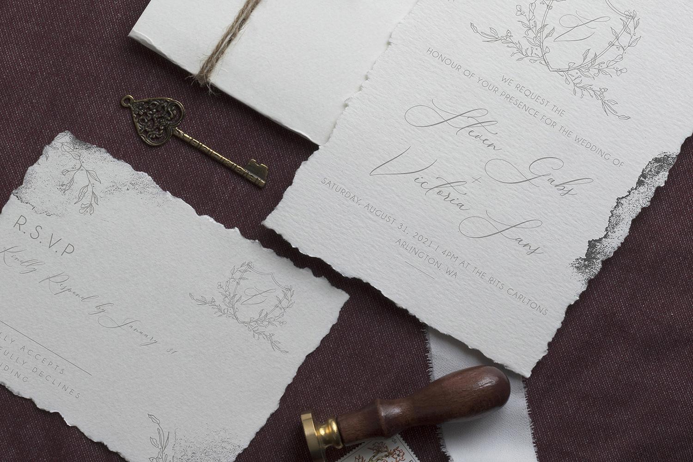 Modern Sketch - Wedding Set example image 2