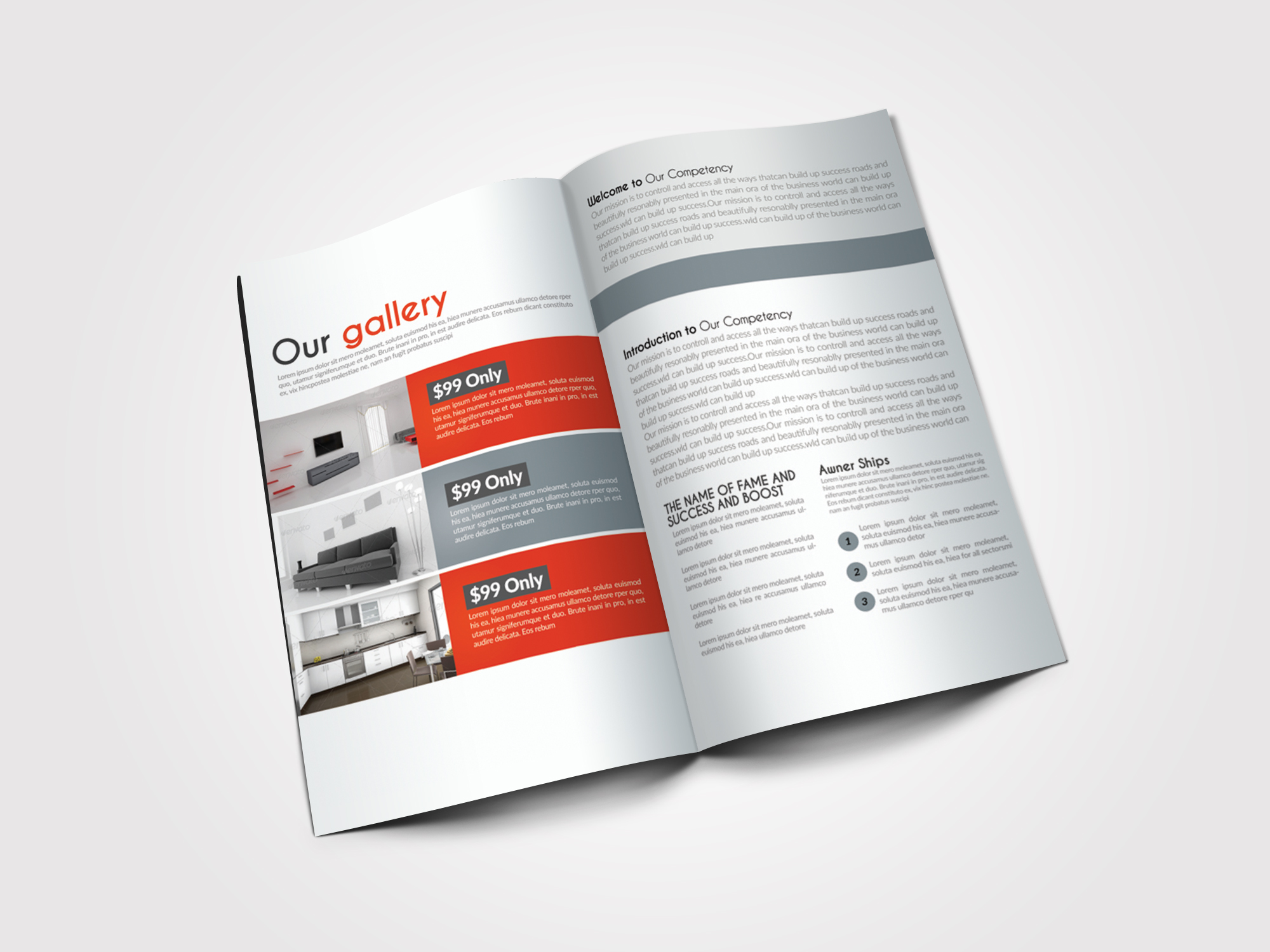 10 Pages Business Bifold Brochure example image 4