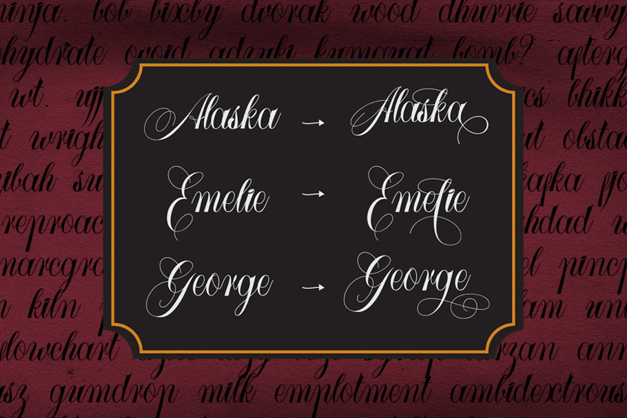 Larasati font duo with extras example image 5
