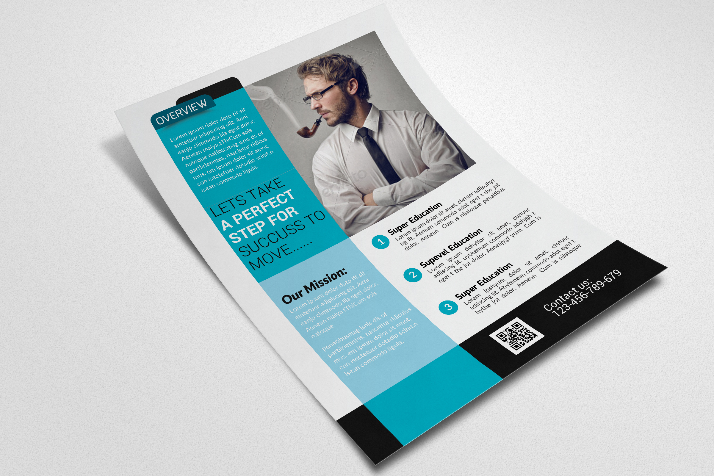 Business Advisor flyer Psd example image 3
