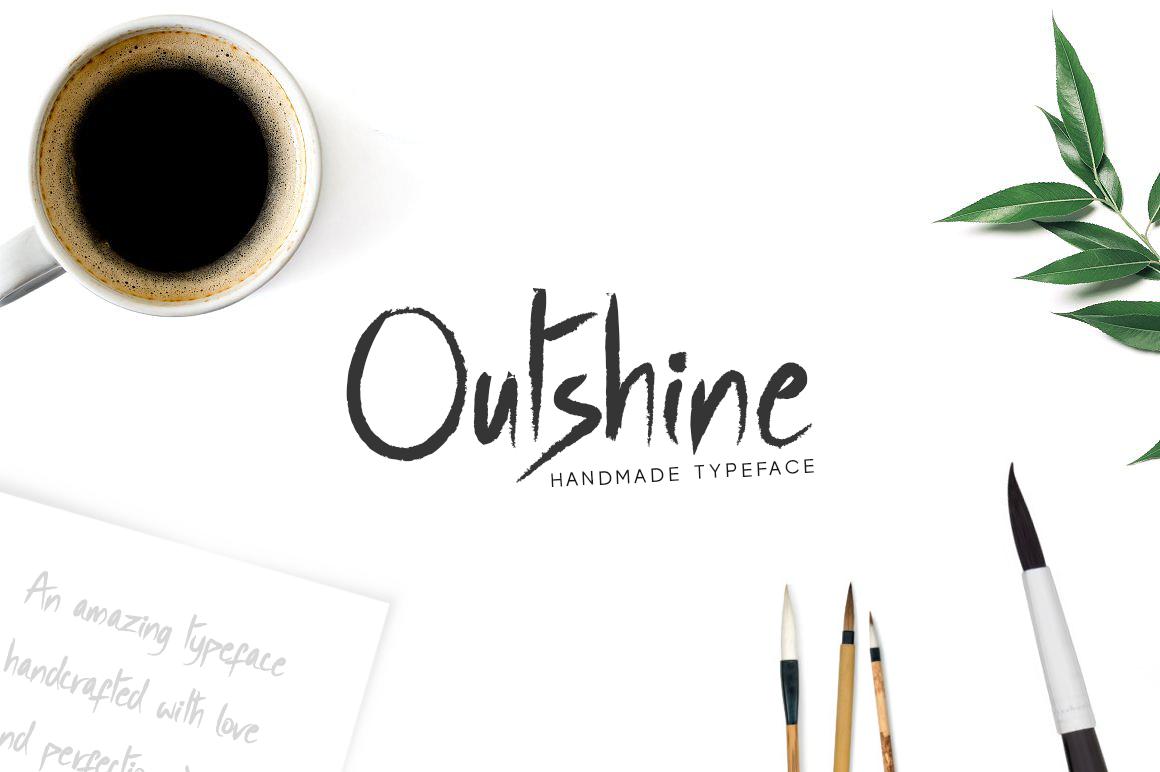 Outshine - Luxury / Handwritten Font example image 2