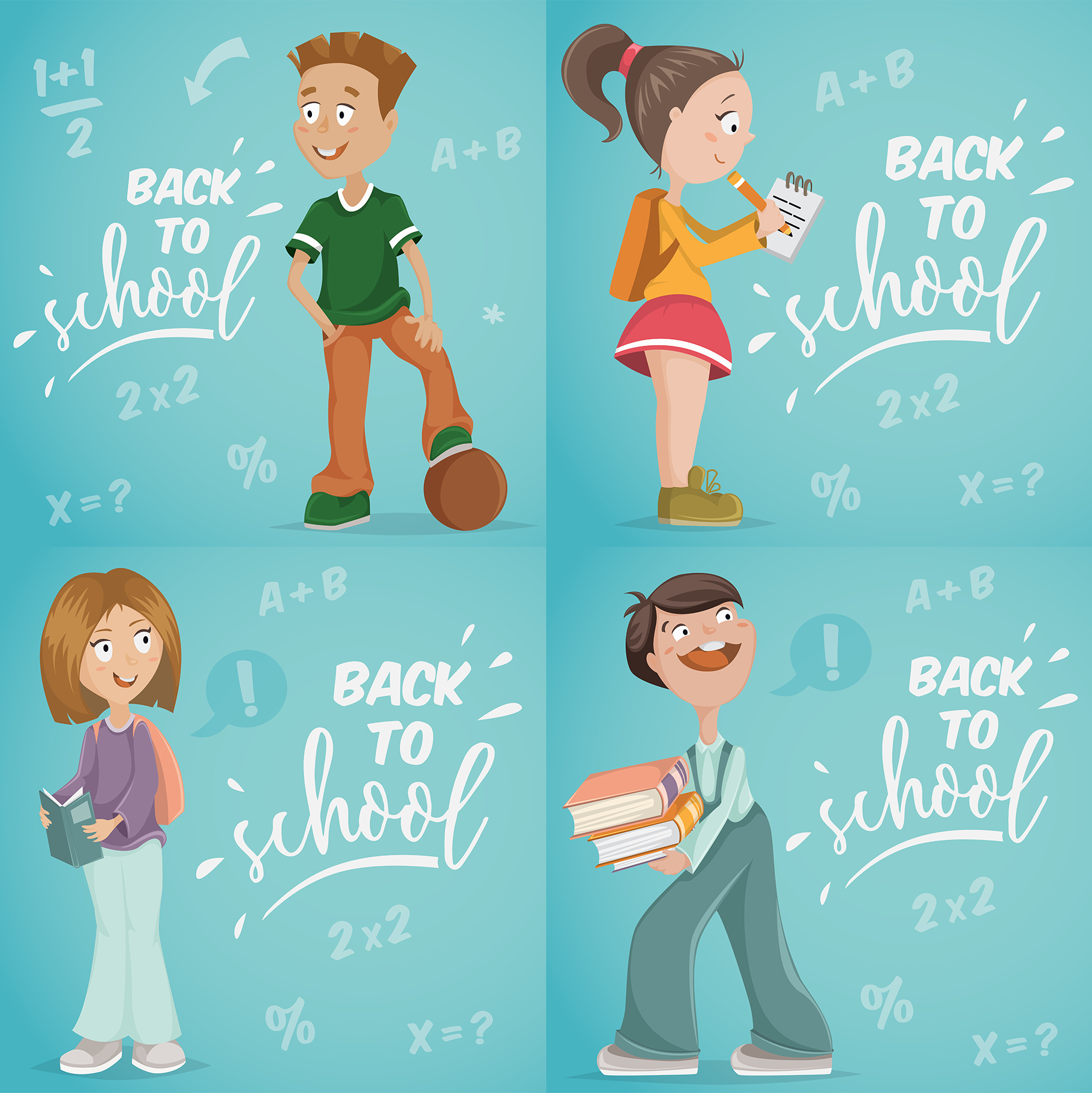 Back to school collection example image 4