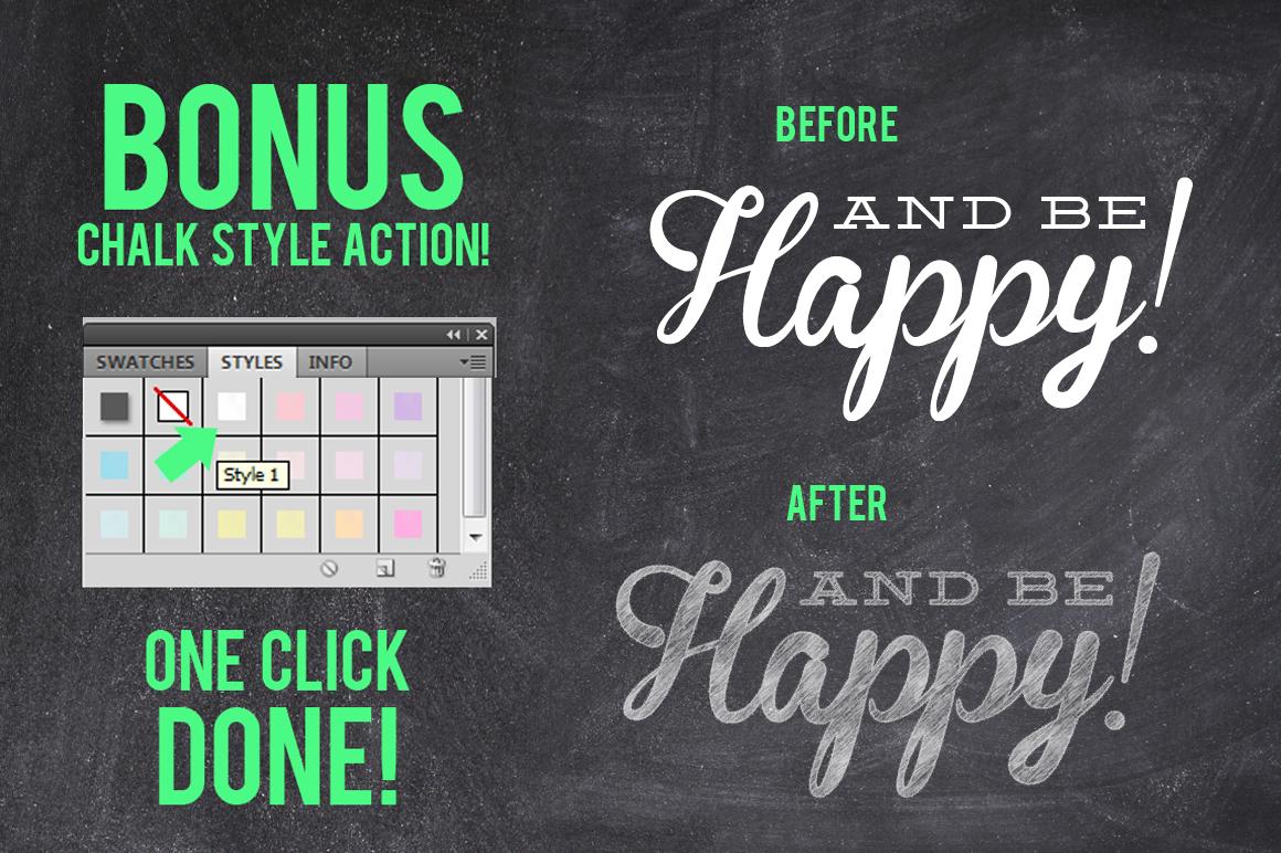 Mega Chalk Holiday Bundle 60 off example image 3