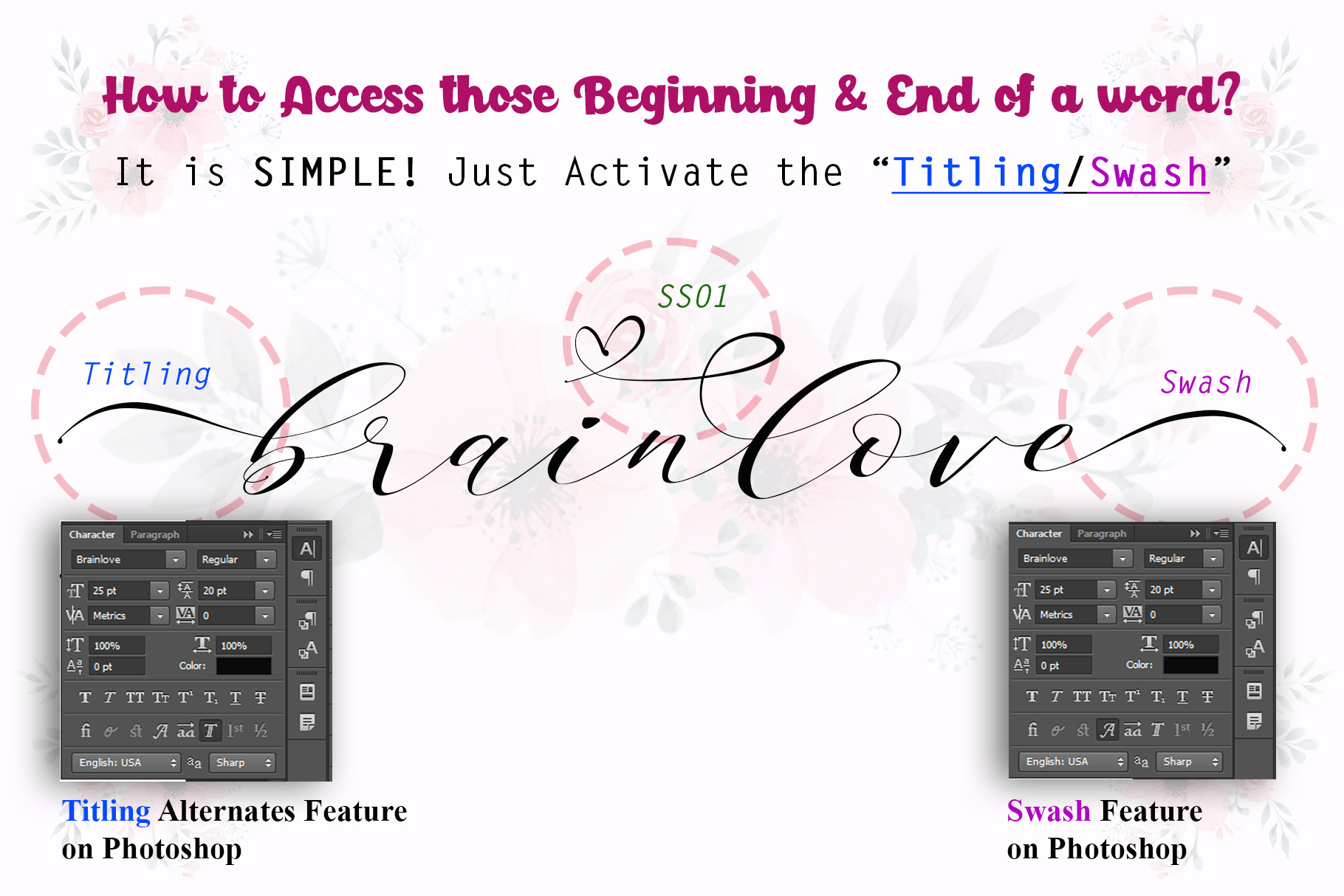 Brainlove - Beautiful Script example image 9