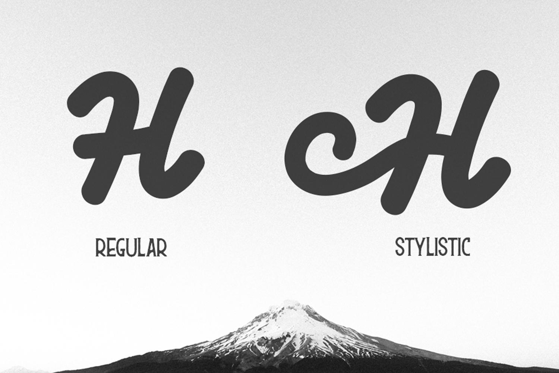 Himalaya Font example image 5