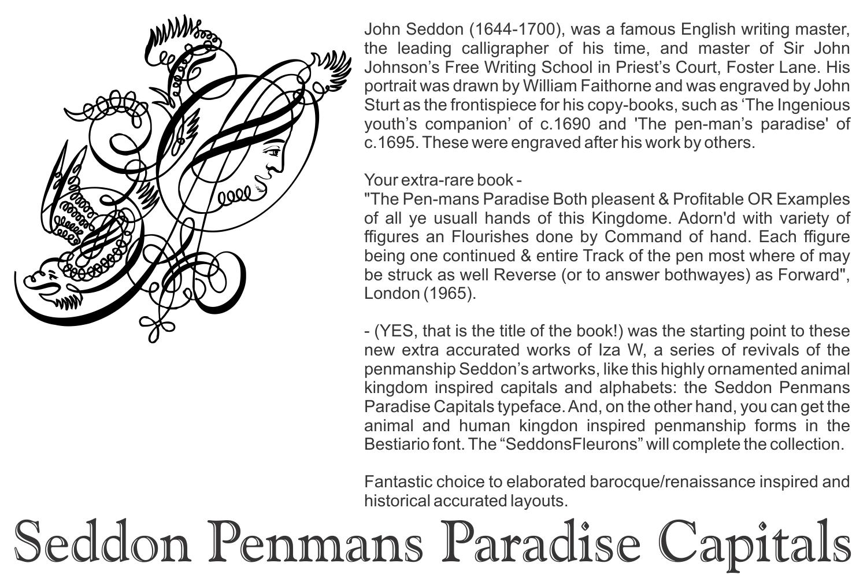 Seddon Penmans Paradise Capitals example image 3
