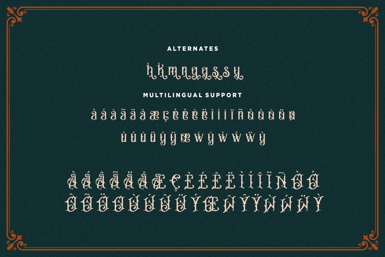 Bandits Vintage Font example image 9