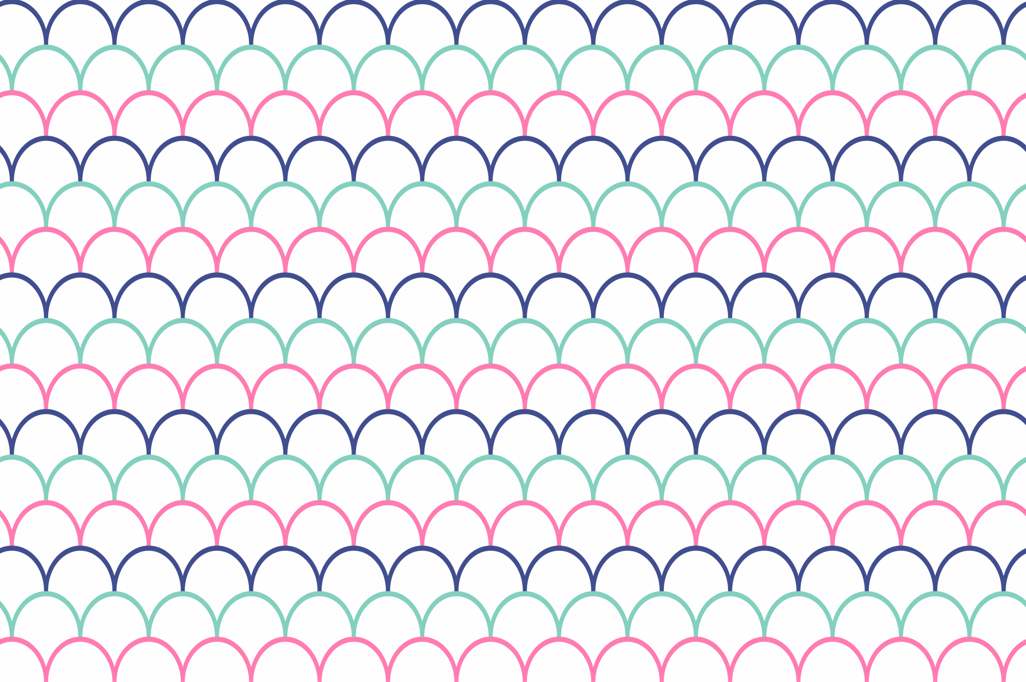 Color geometric patterns - seamless. example image 4