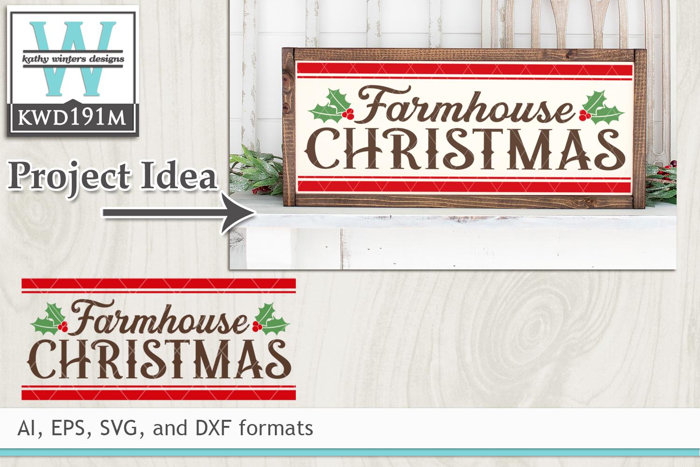 Christmas SVG - Farmhouse Christmas example image 1