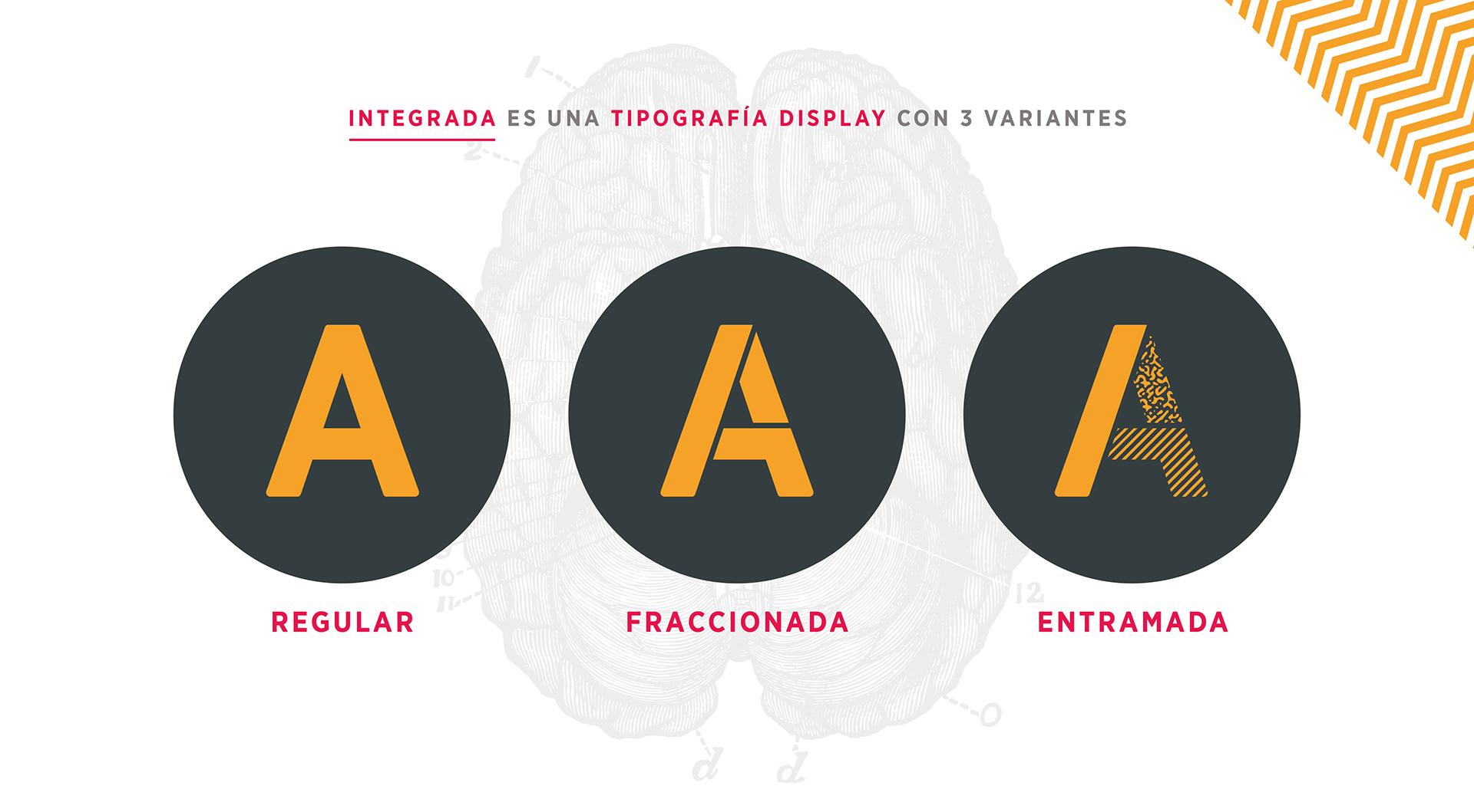 INTEGRADA font example image 3
