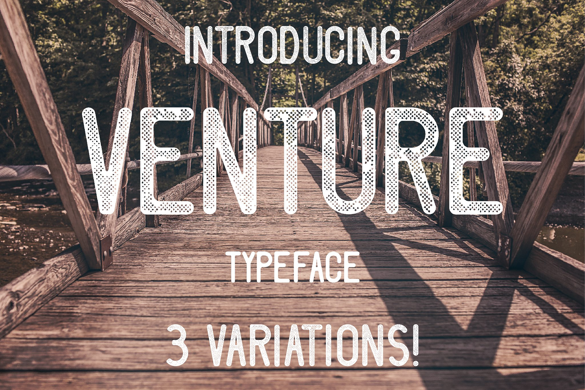 Venture Typeface example image 1