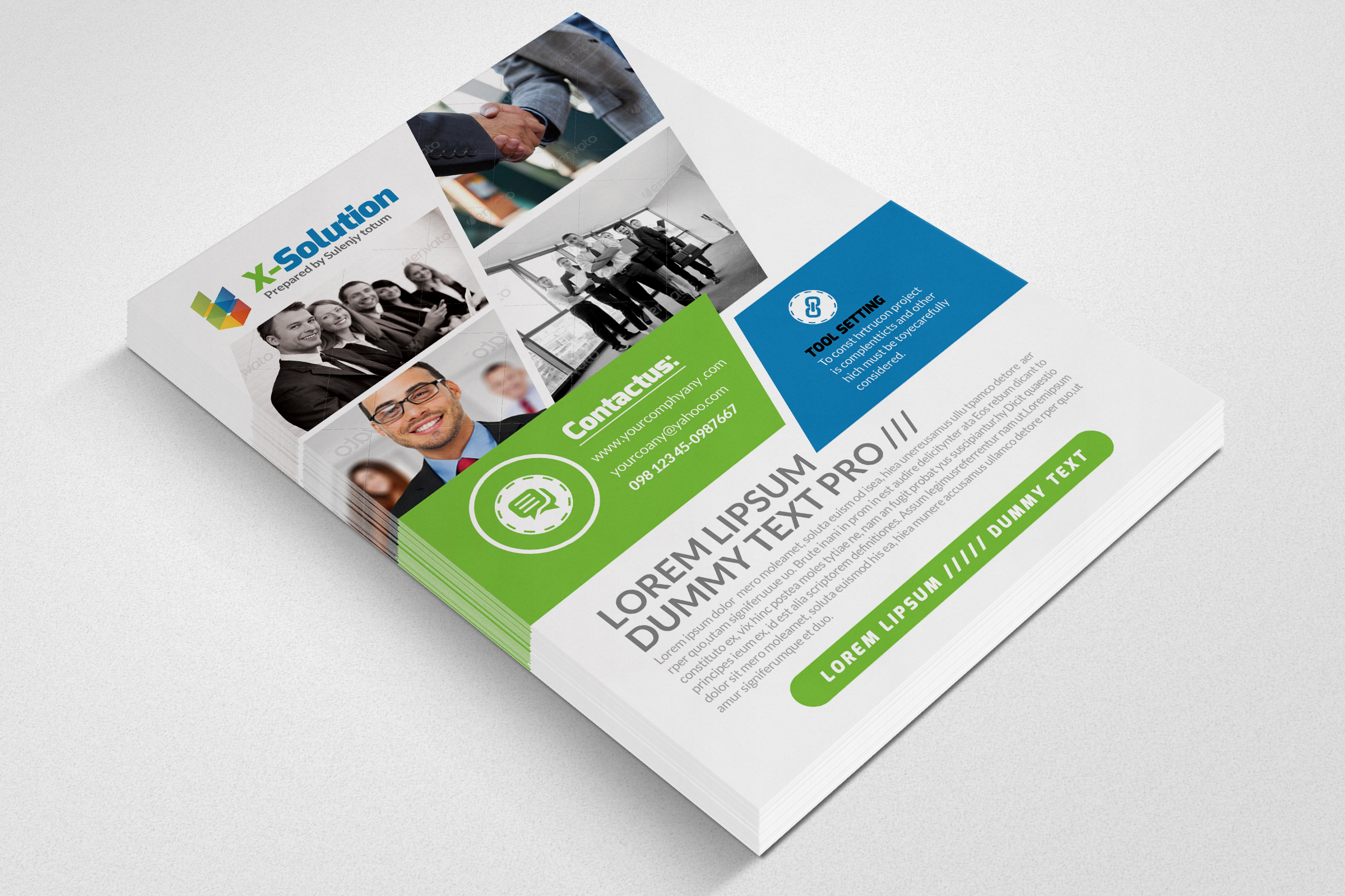 Corporation Business Flyer example image 3