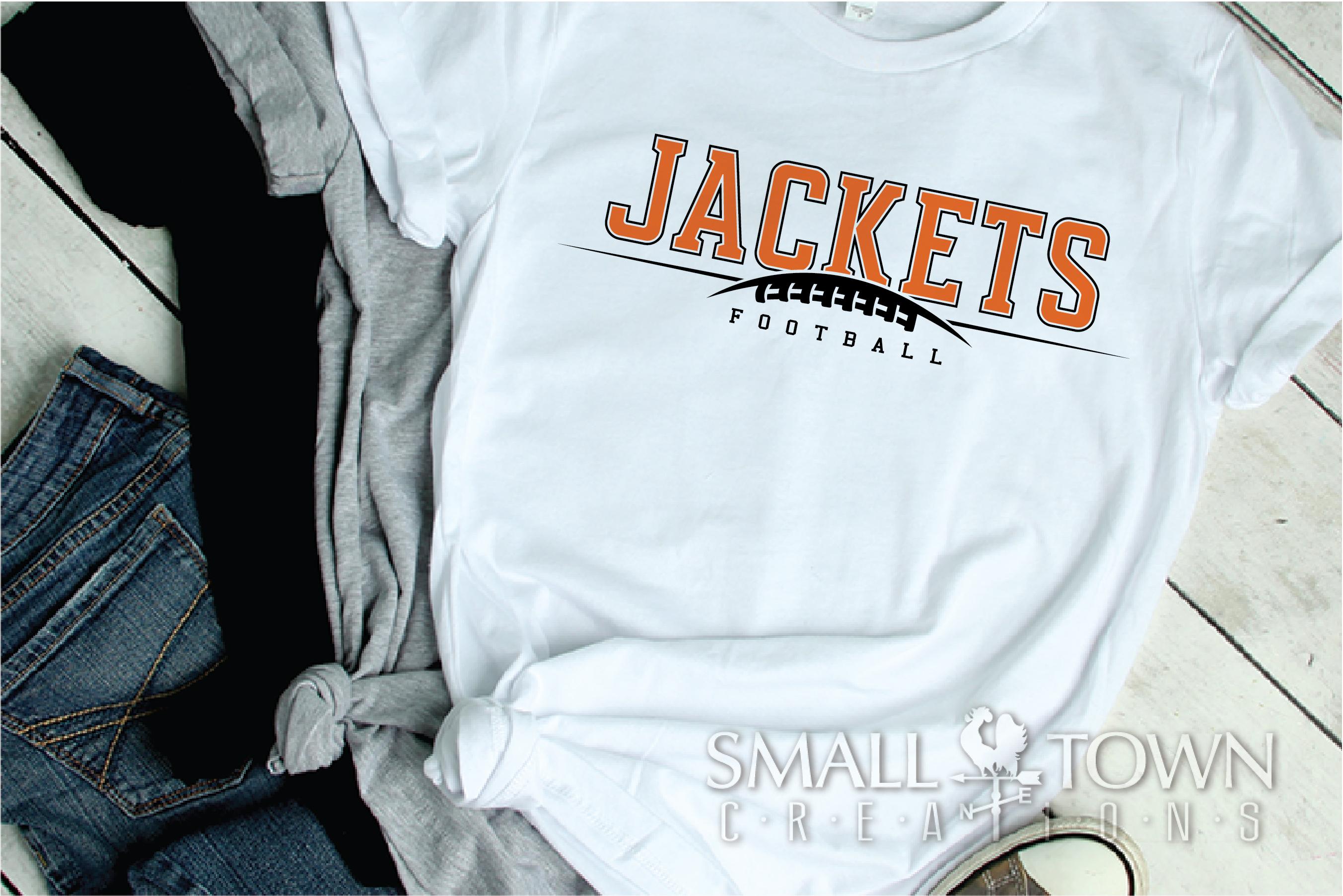 Jacket Football, Football Team, Sport, PRINT, CUT & DESIGN example image 2