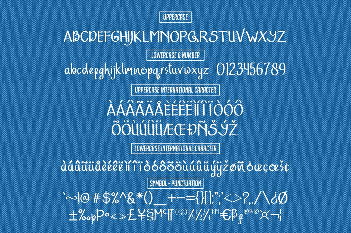 Adfonture Typeface example image 8