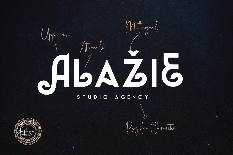 Almeda // A Modern Vintage Font example image 3